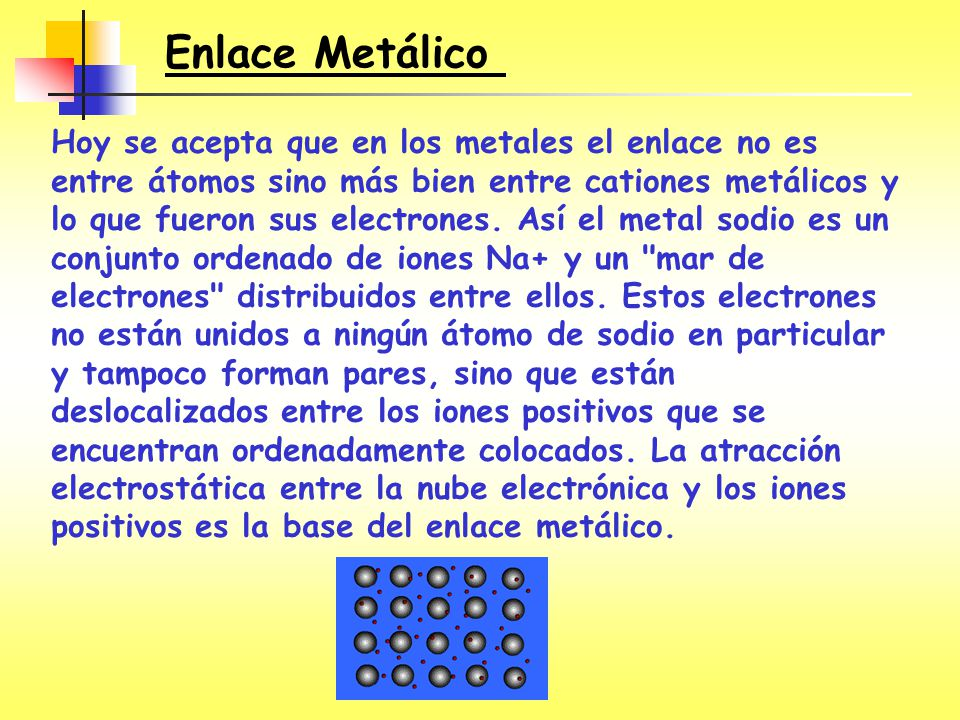 Enlace Metálico