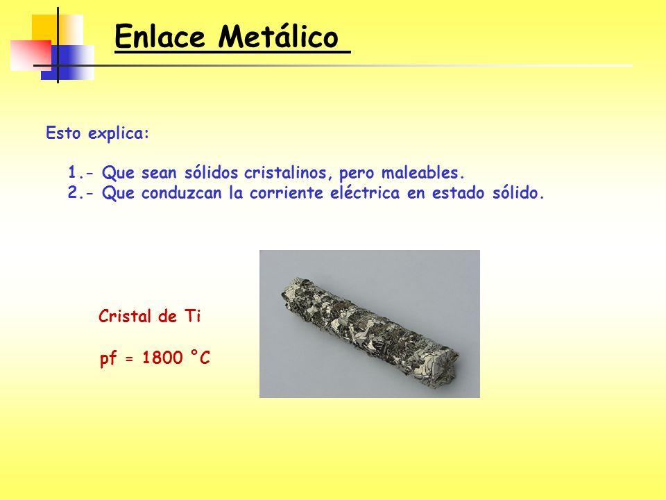 Enlace Metálico Esto explica: