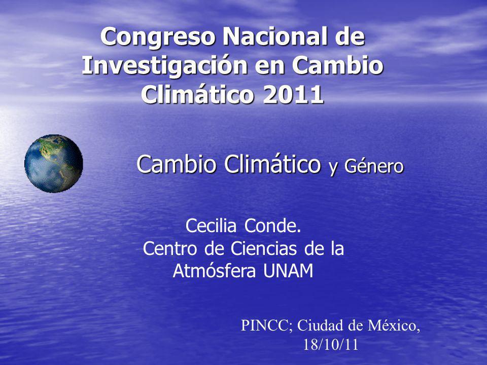 Congreso Nacional de Investigación en Cambio Climático 2011