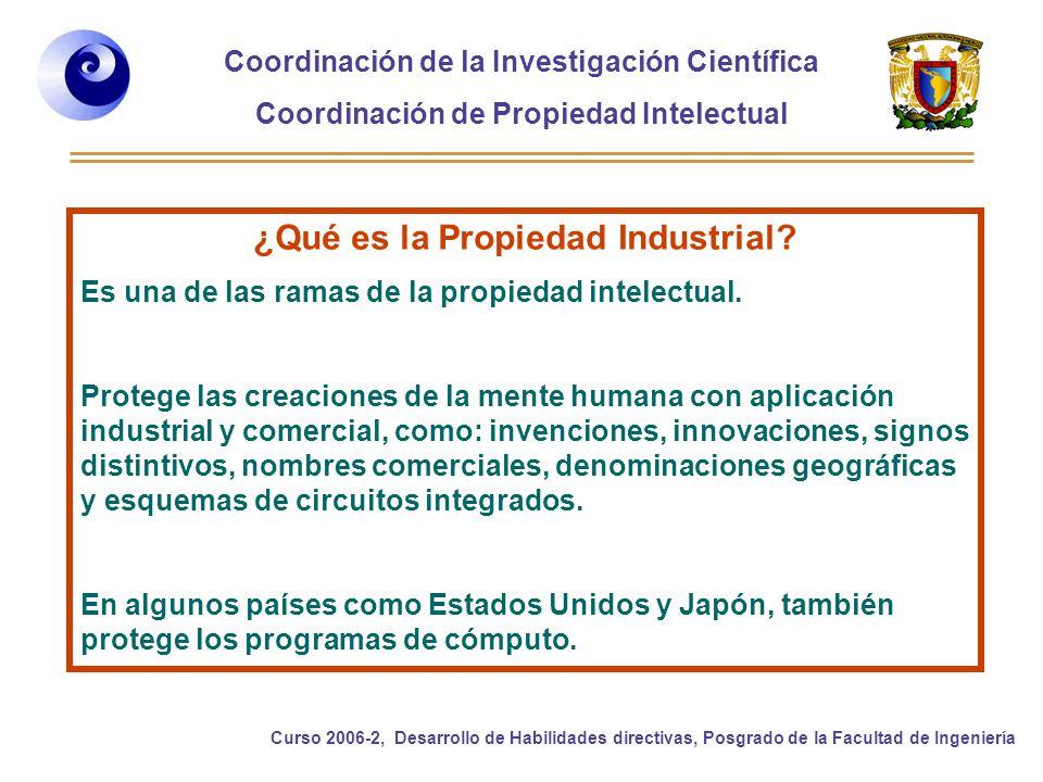 ¿Qué es la Propiedad Industrial