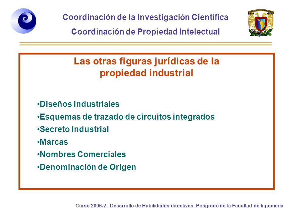 Las otras figuras jurídicas de la propiedad industrial