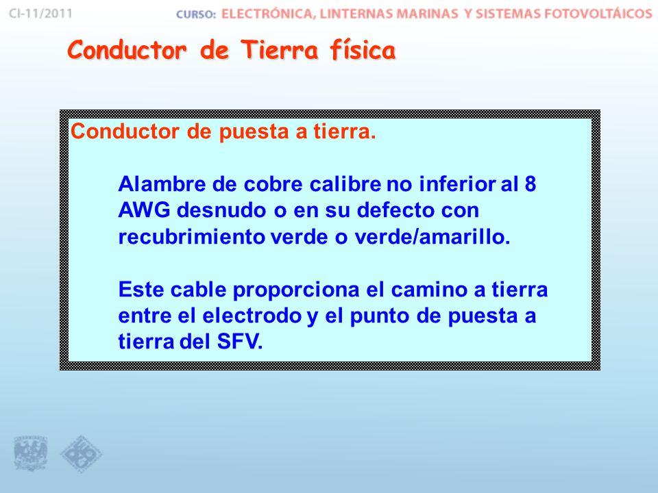Conductor de Tierra física