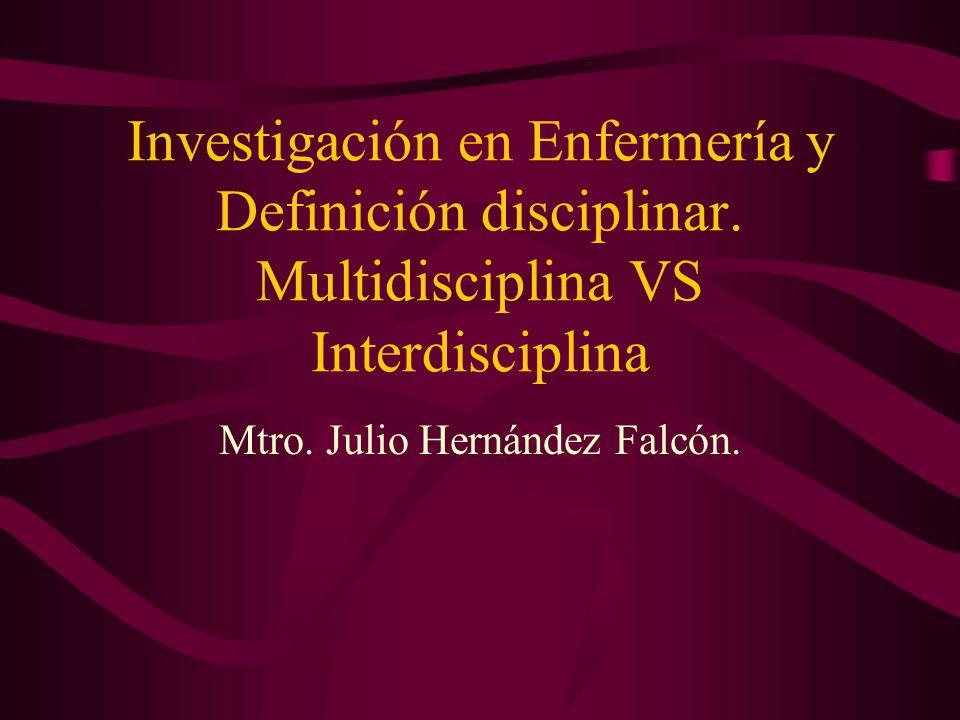 Mtro. Julio Hernández Falcón.