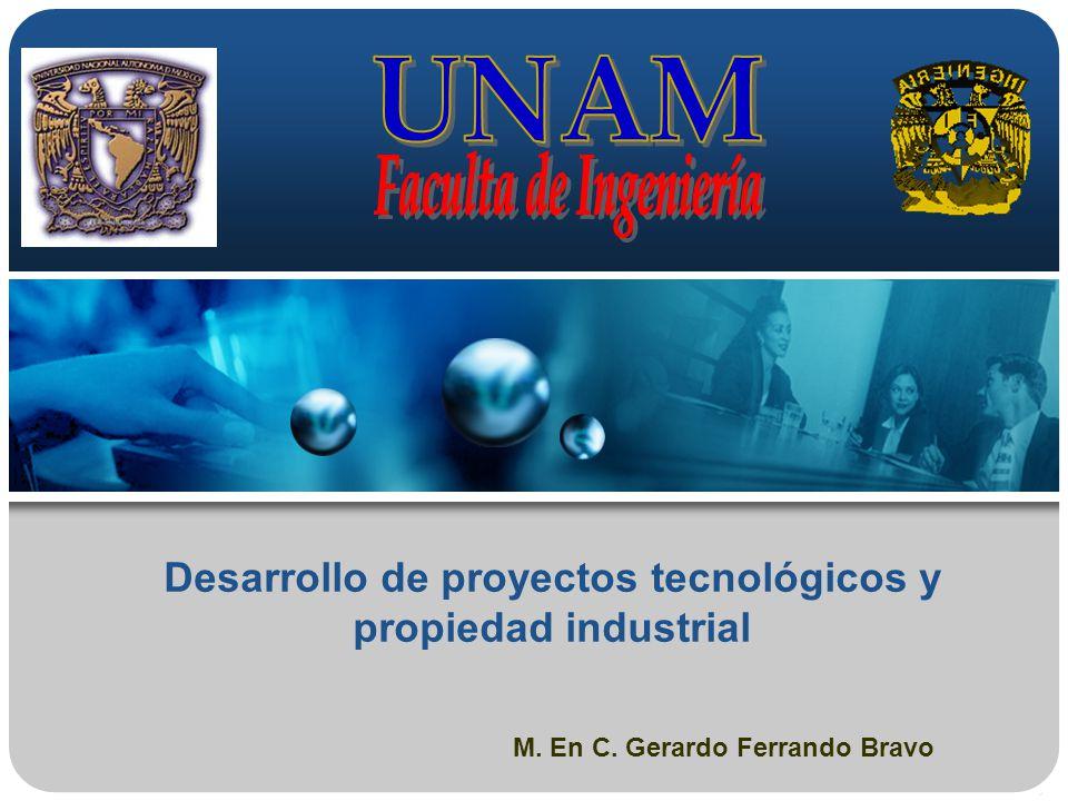 Desarrollo de proyectos tecnológicos y propiedad industrial