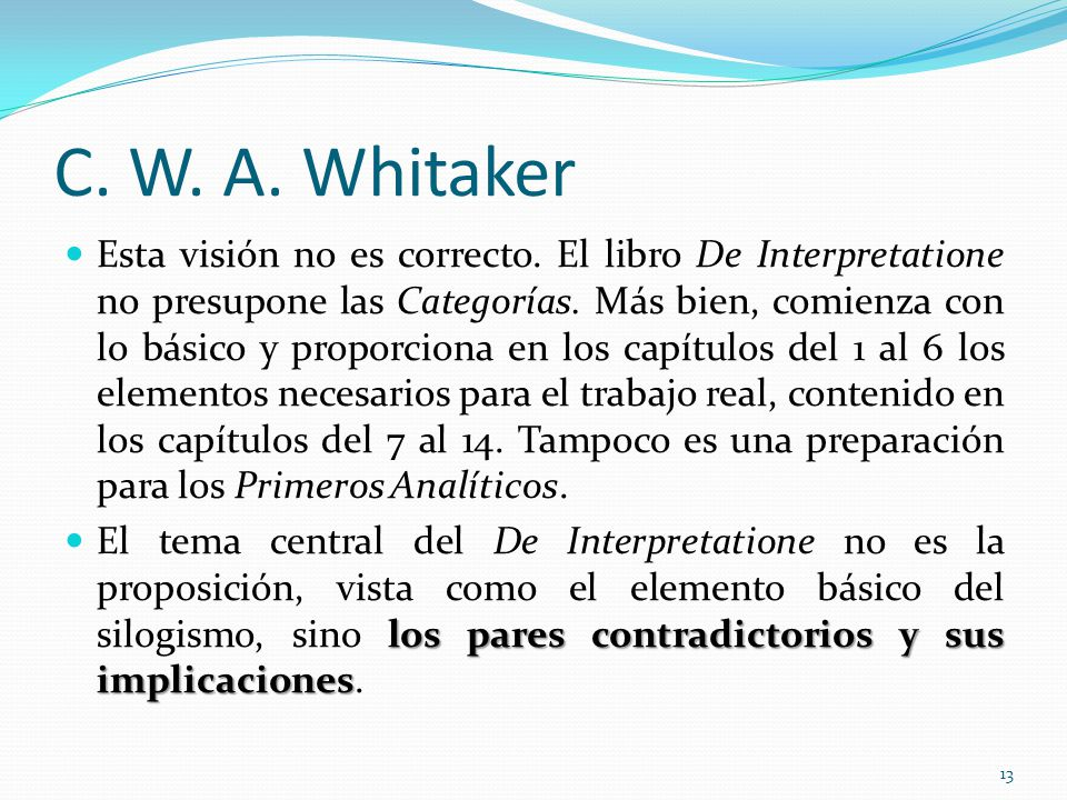 C. W. A. Whitaker