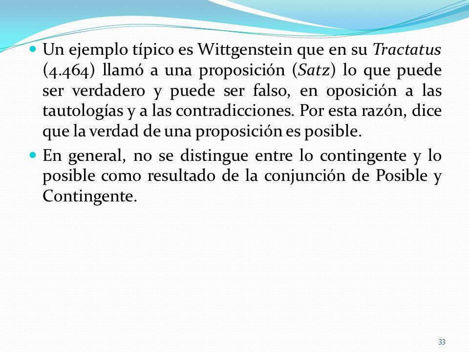Un ejemplo típico es Wittgenstein que en su Tractatus (4