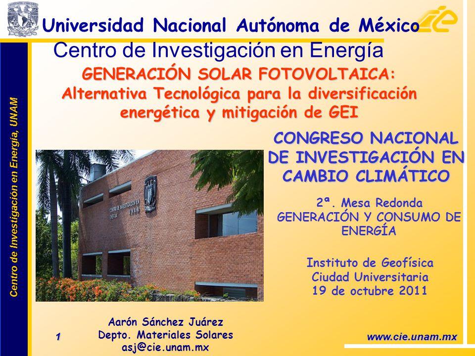 Centro de Investigación en Energía