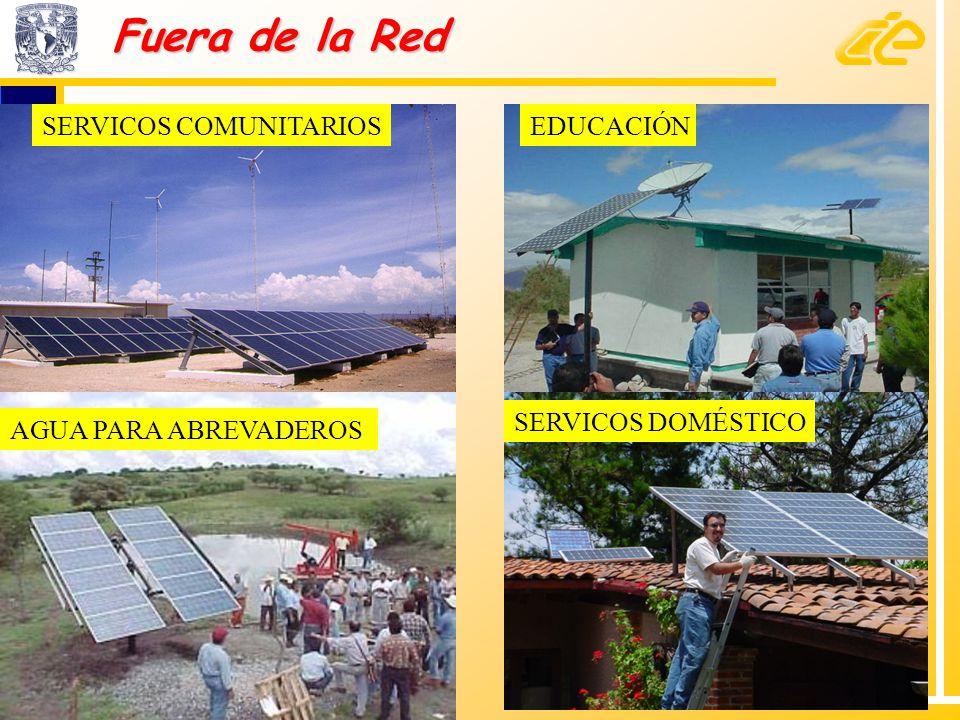 Fuera de la Red SERVICOS COMUNITARIOS EDUCACIÓN SERVICOS DOMÉSTICO