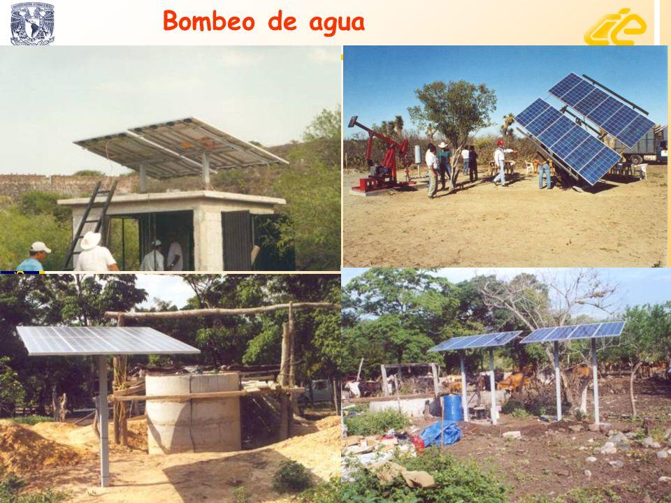 Bombeo de agua 24 www.cie.unam.mx.