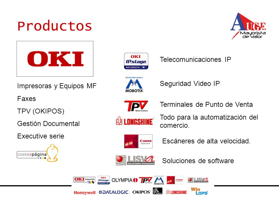 Productos asf Telecomunicaciones IP Seguridad Video IP