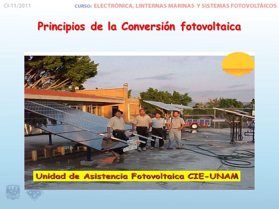 Principios de la Conversión fotovoltaica