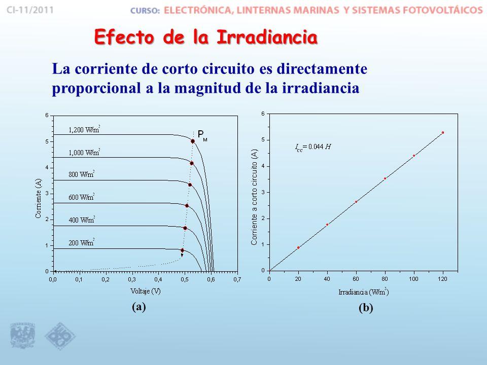 Efecto de la Irradiancia