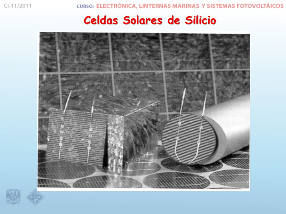 Celdas Solares de Silicio