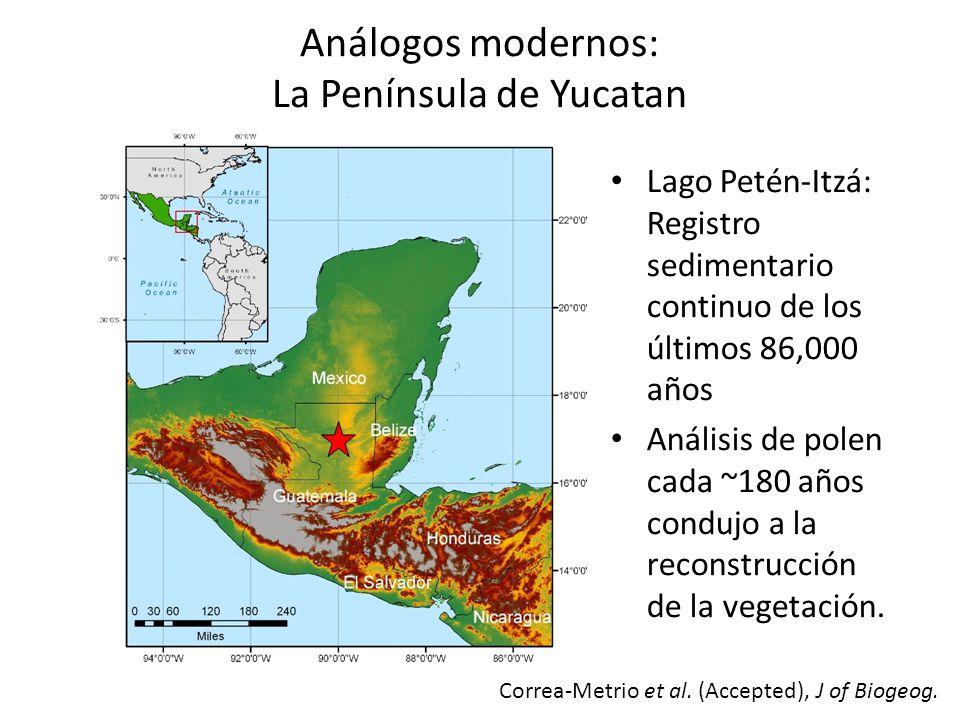 La Península de Yucatan