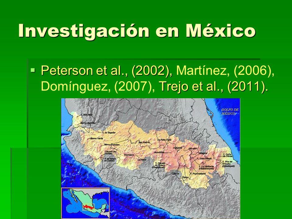 Investigación en México