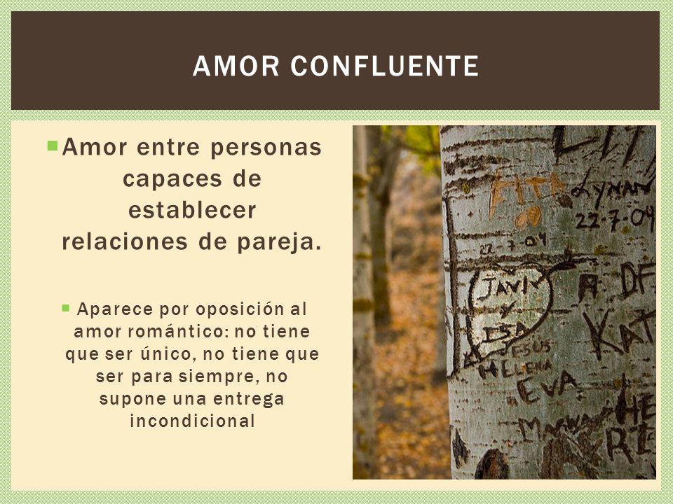 Amor entre personas capaces de establecer relaciones de pareja.