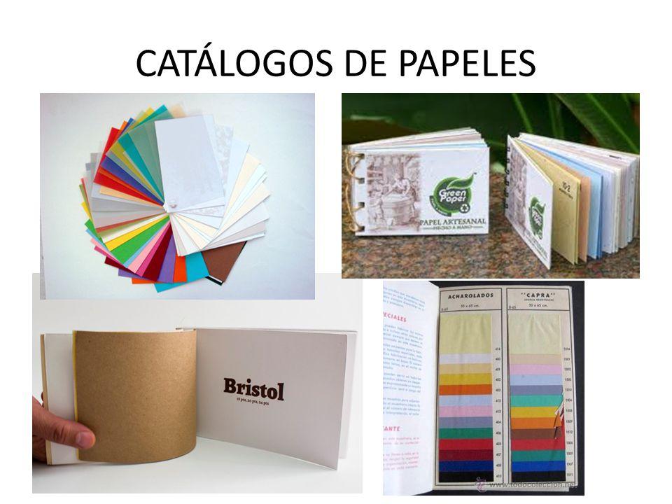 CATÁLOGOS DE PAPELES