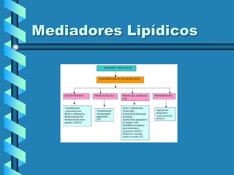 Mediadores Lipídicos