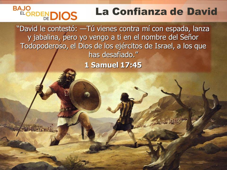 La Confianza de David