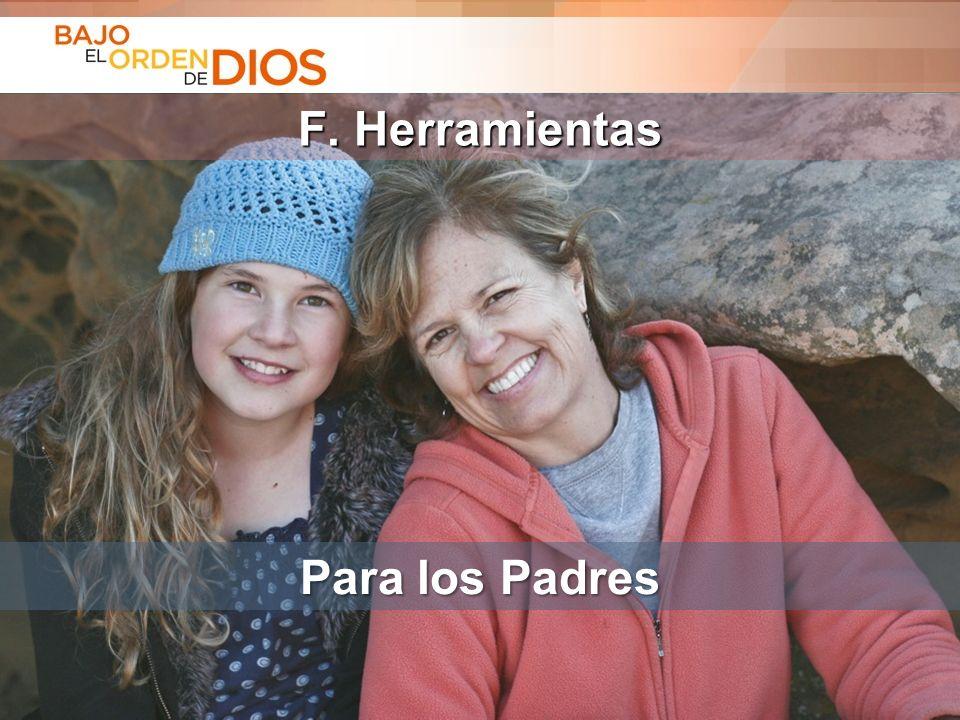 F. Herramientas Para los Padres
