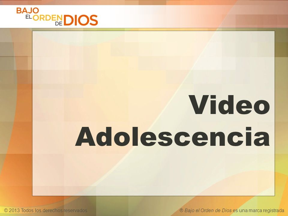 Video Adolescencia