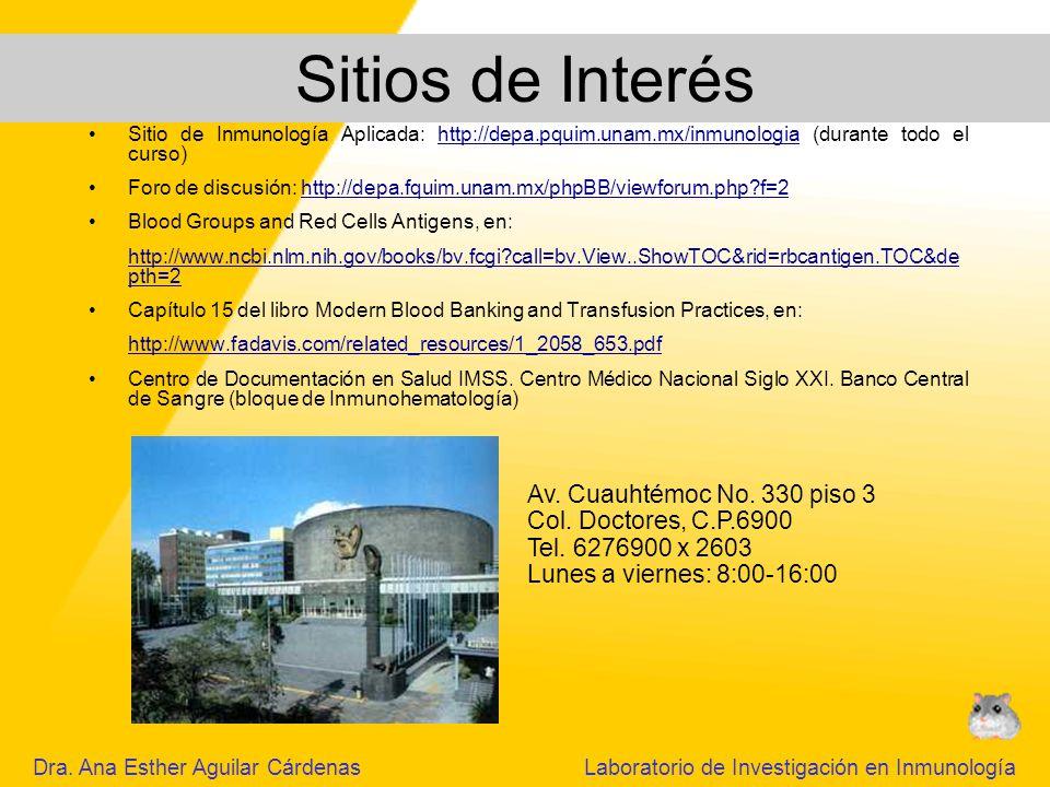 Sitios de Interés Av. Cuauhtémoc No. 330 piso 3
