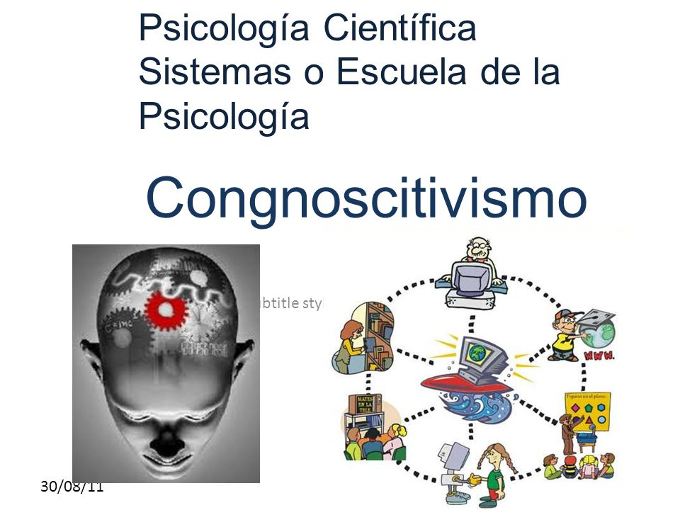 Congnoscitivismo Psicología Científica