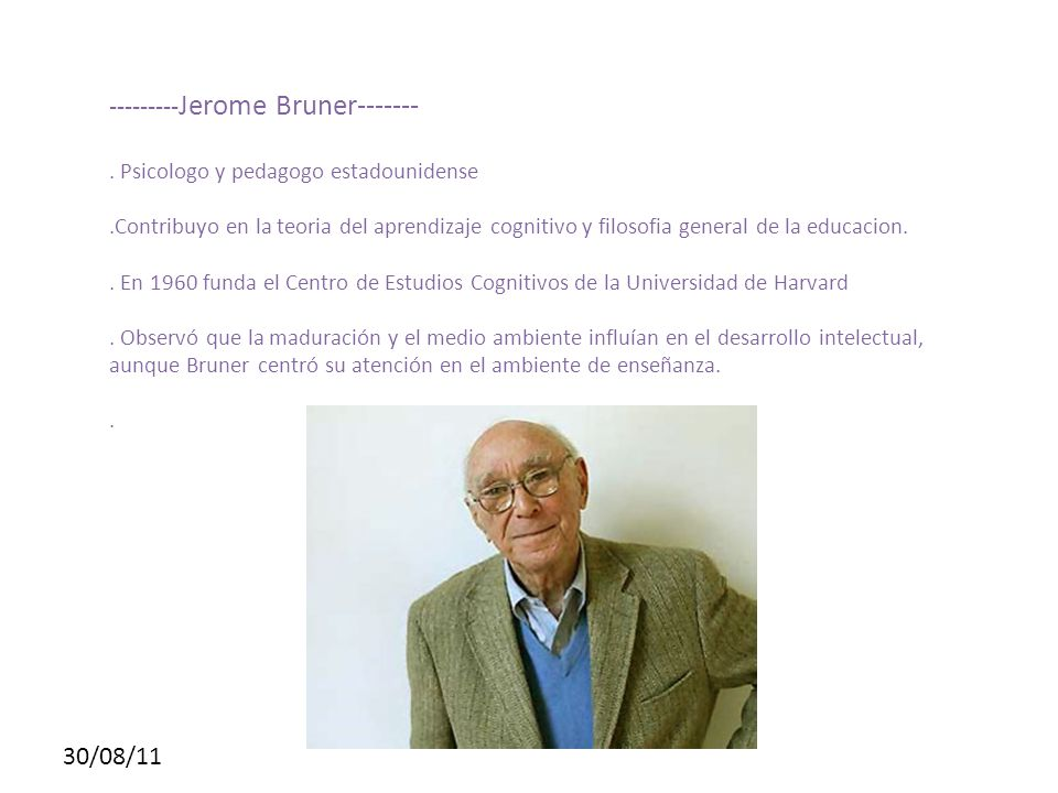 ---------Jerome Bruner-------