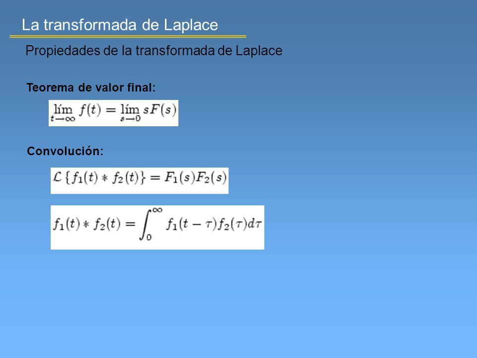 Teorema de valor final: