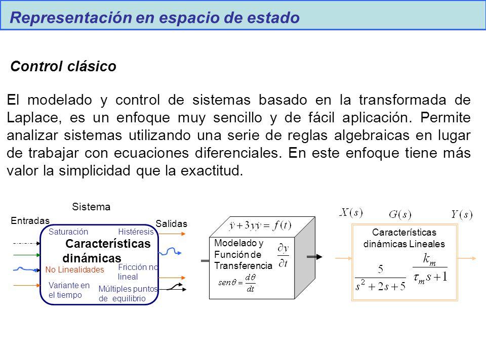 Características dinámicas Lineales