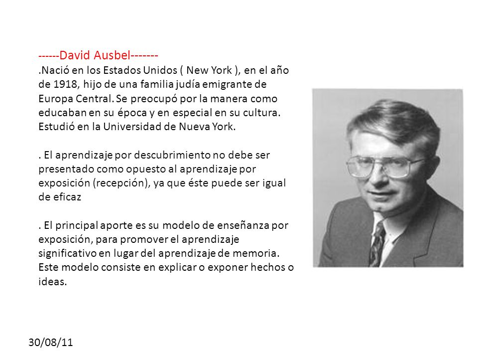 ------David Ausbel-------