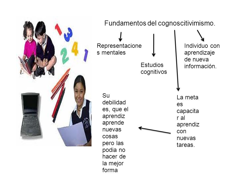 Fundamentos del cognoscitivimismo.