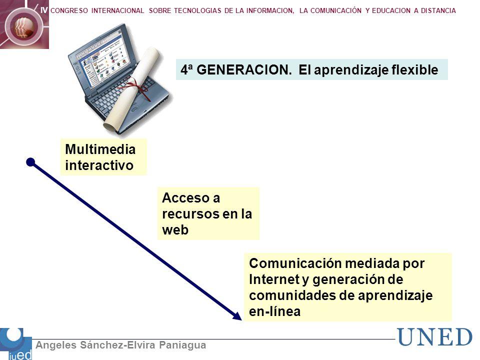 4ª GENERACION. El aprendizaje flexible