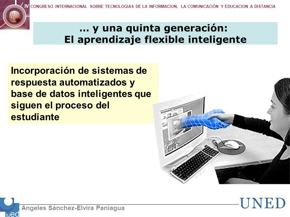 … y una quinta generación: El aprendizaje flexible inteligente