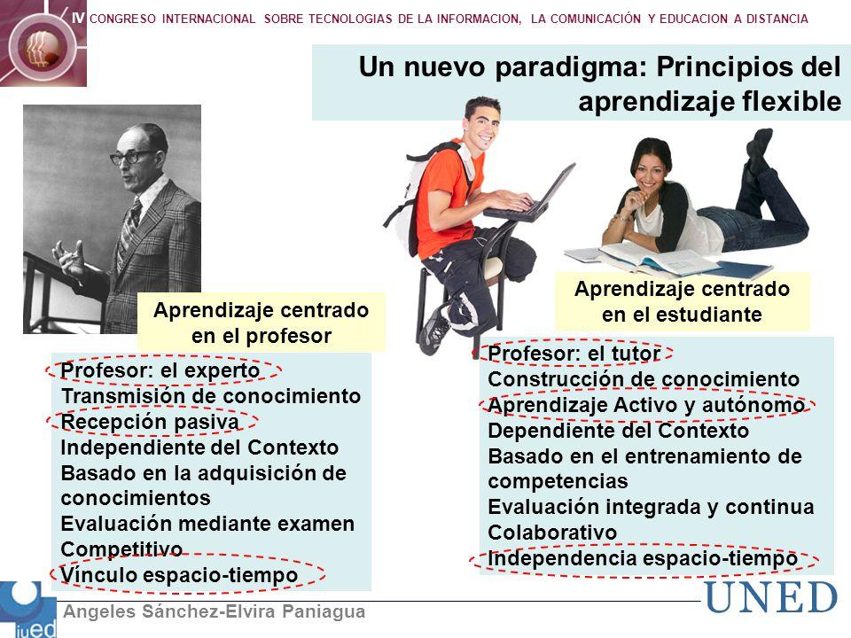Un nuevo paradigma: Principios del aprendizaje flexible