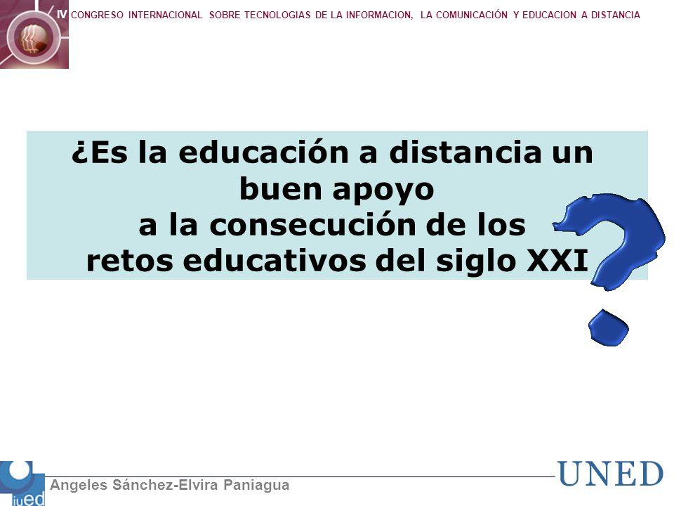 ¿Es la educación a distancia un retos educativos del siglo XXI