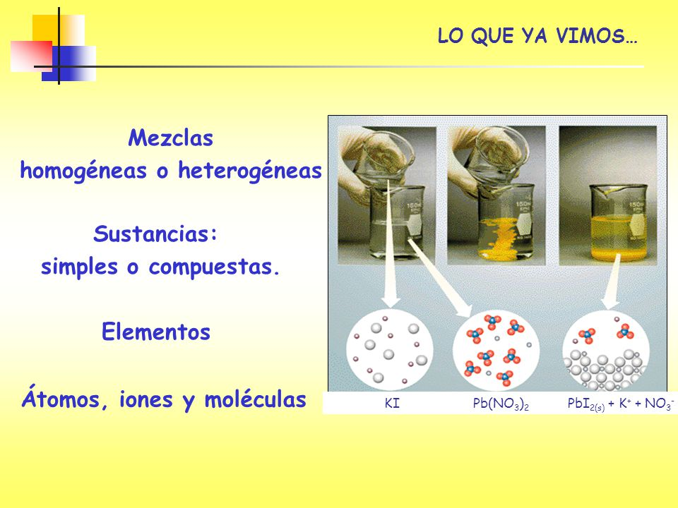 homogéneas o heterogéneas