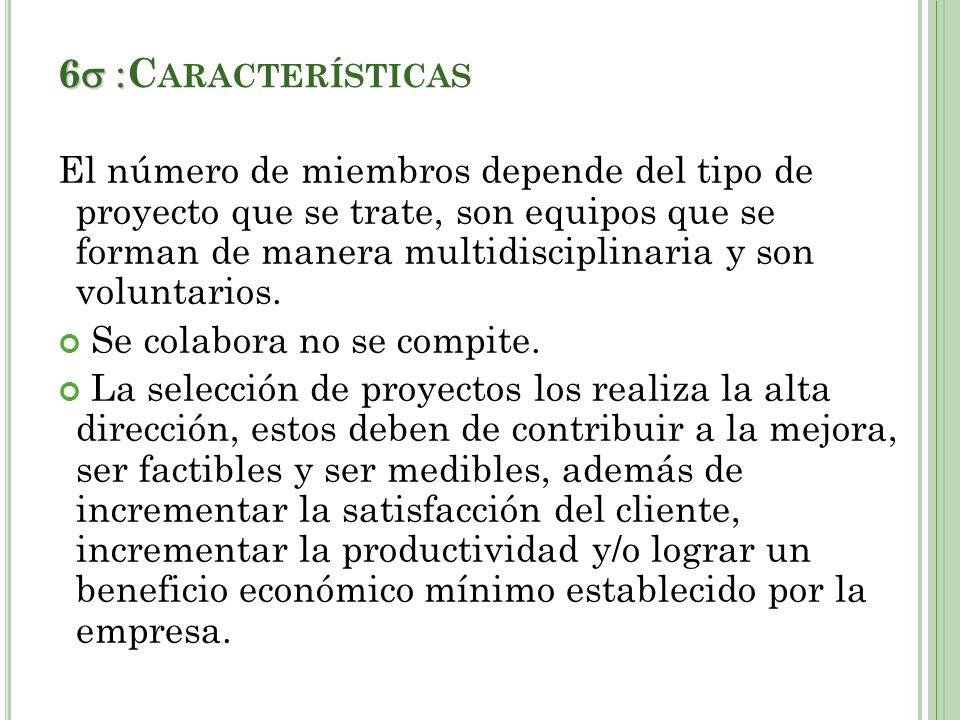 6 :Características