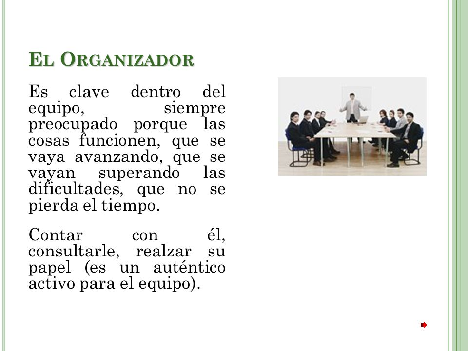 El Organizador