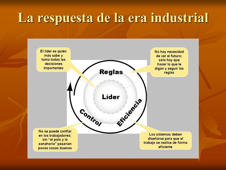 La respuesta de la era industrial