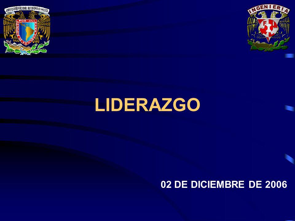 LIDERAZGO 02 DE DICIEMBRE DE 2006