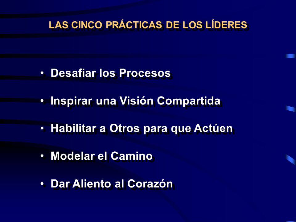 LAS CINCO PRÁCTICAS DE LOS LÍDERES