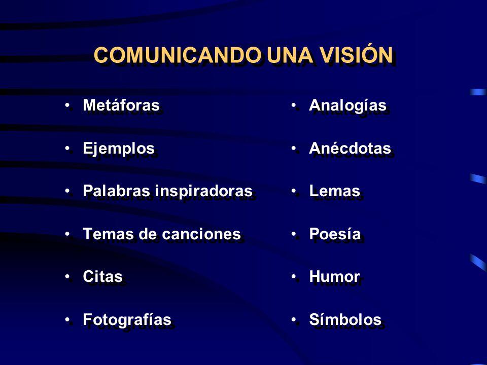 COMUNICANDO UNA VISIÓN