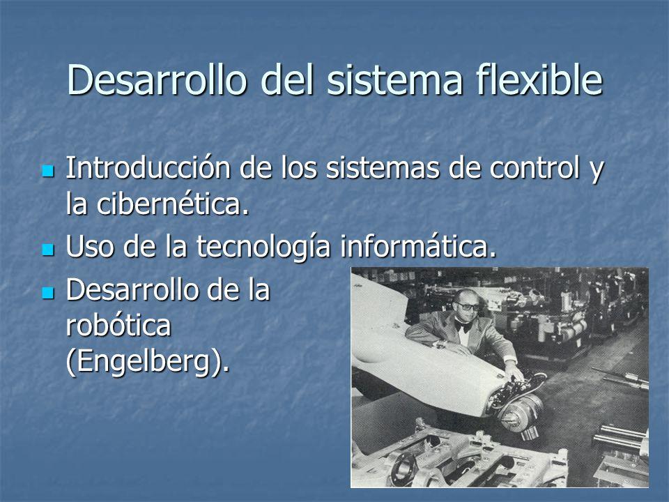 Desarrollo del sistema flexible