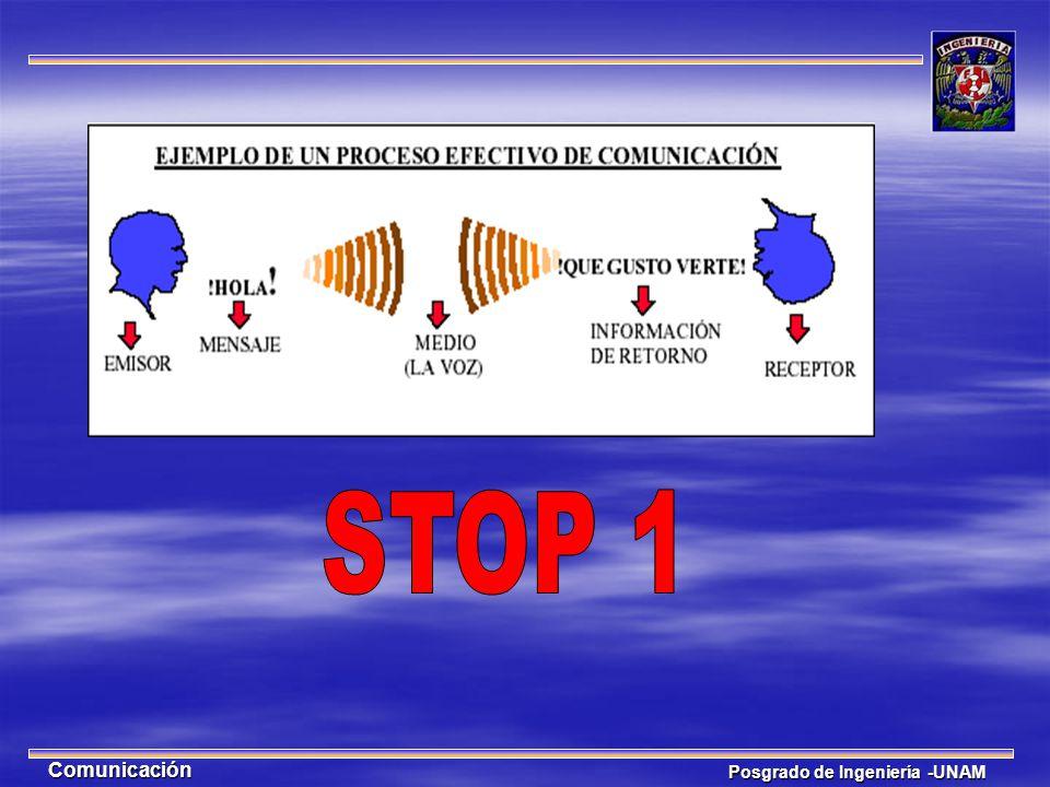 STOP 1 Comunicación