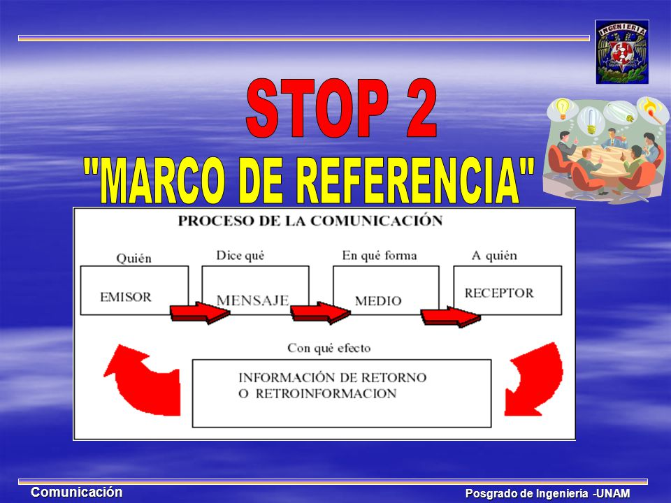 STOP 2 MARCO DE REFERENCIA Comunicación