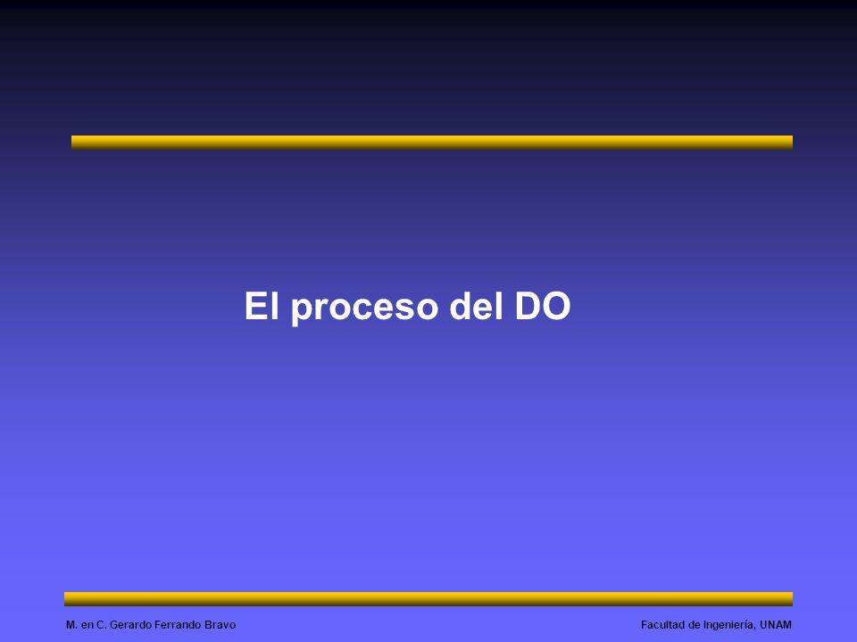 El proceso del DO
