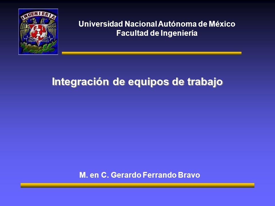 Integración de equipos de trabajo