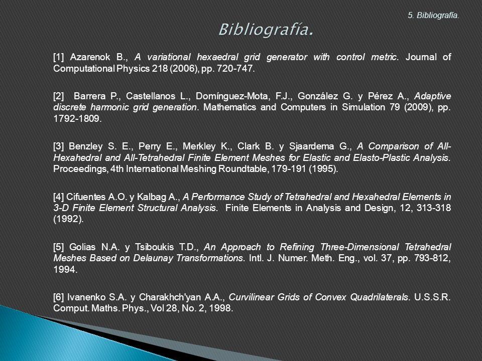 Bibliografía. 5. Bibliografía.