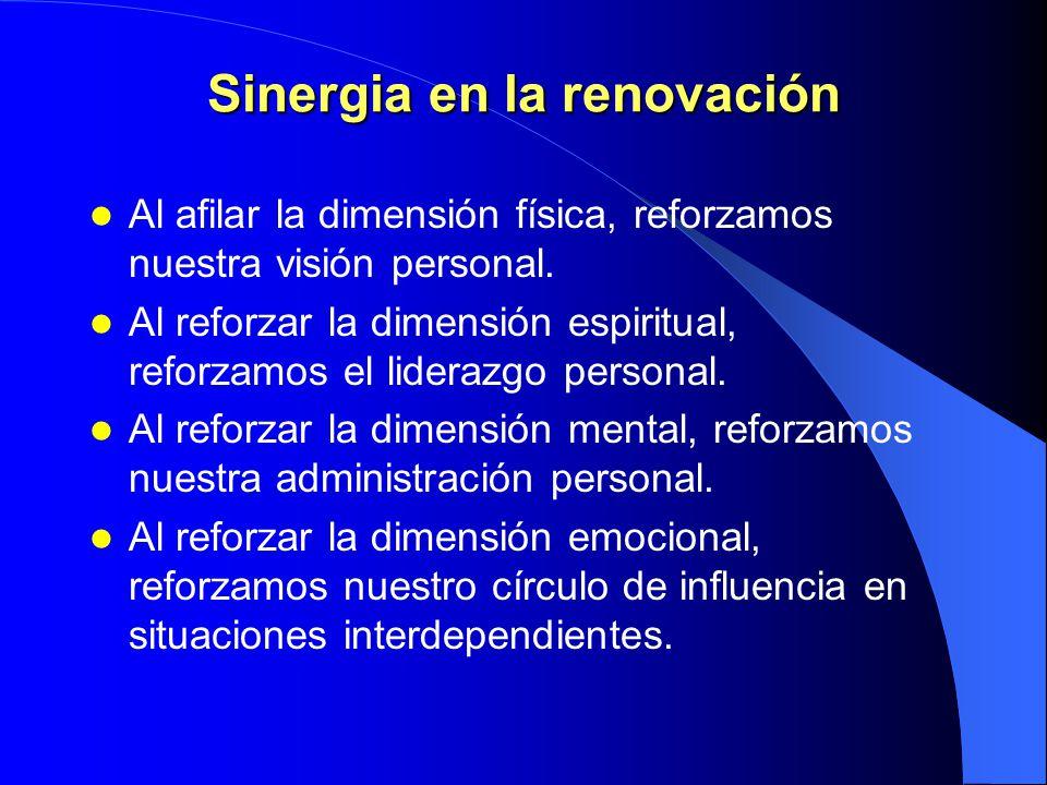Sinergia en la renovación